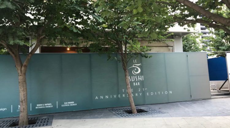 Le Sushi Bar Opening in DT Beirut for its 21st Anniversary