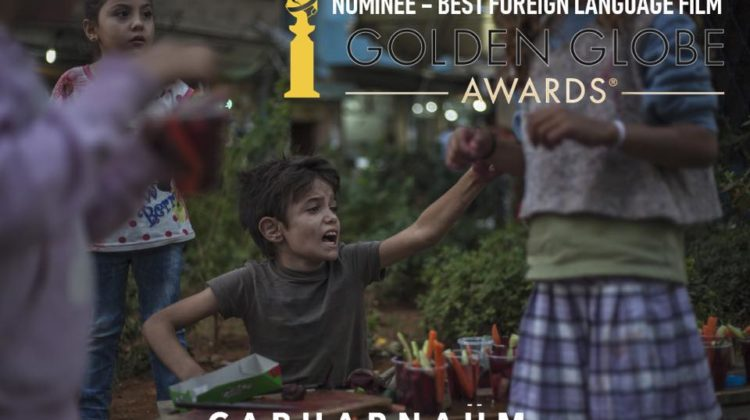 Capharnaüm gets #Lebanon's first #GoldenGlobeAward Nomination ahead of US release on December 14