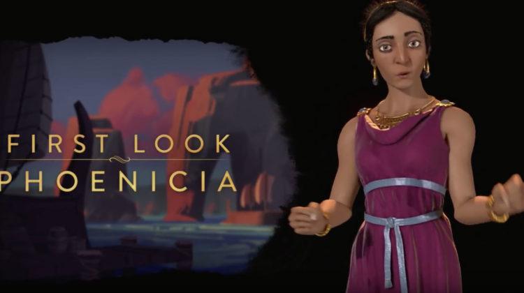 The Phoenician Civilization Included in Sid Meier's Civilization VI