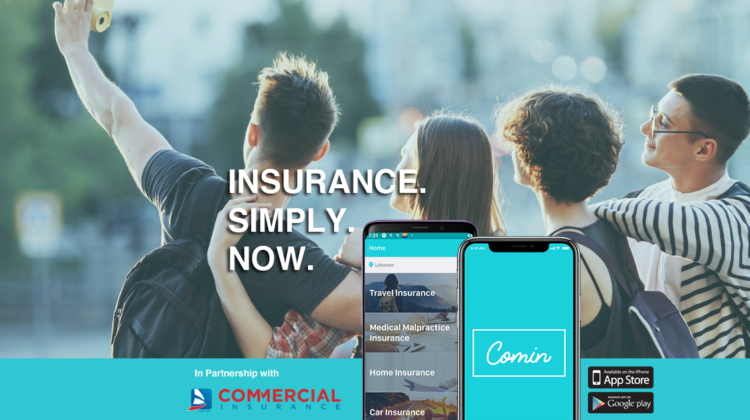 Comin' Insurance – A Great Mobile App to Buy Cheap Insurances On-The-Go in #Lebanon