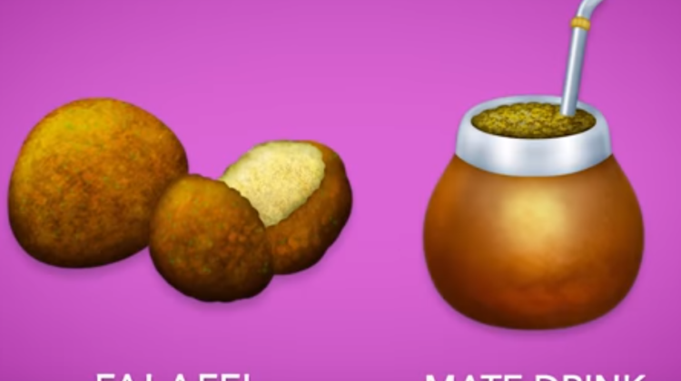 Falafel and Matte Drink Among New emojis To Be Added in 2019
