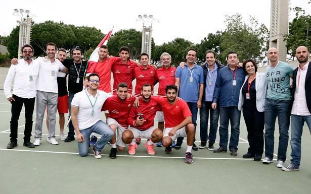 Tennis – Lebanon to play Uzbekistan on home soil in Davis Cup tie this September
