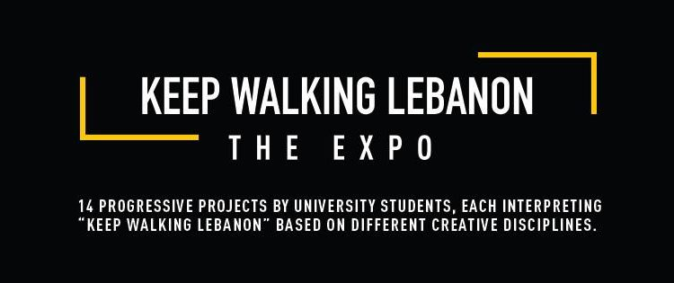Don't Miss The #KeepWalkingLebanon Expo on Feb 9
