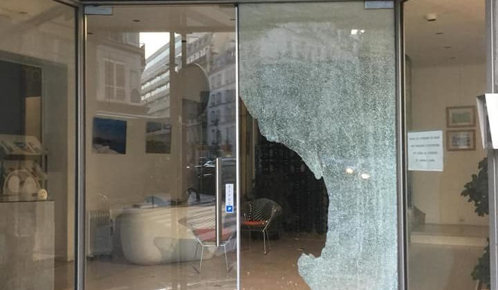 Lebanon's Paris Tourism Office Attacked During Latest Yellow Vests Protest