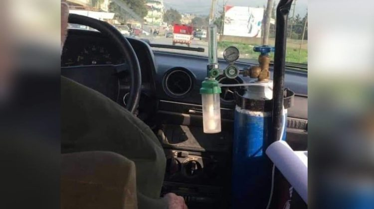How To Help 3ammo Hamed, The Old Taxi Driver Working with an Oxygen Tank