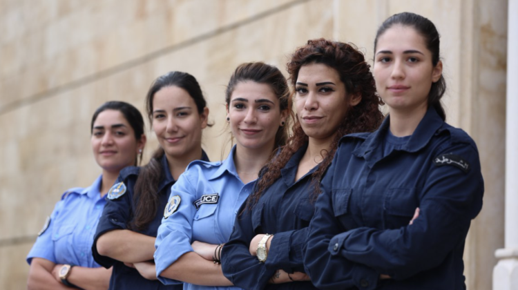 Meet The Female Members of Al Mina's Municipal Police