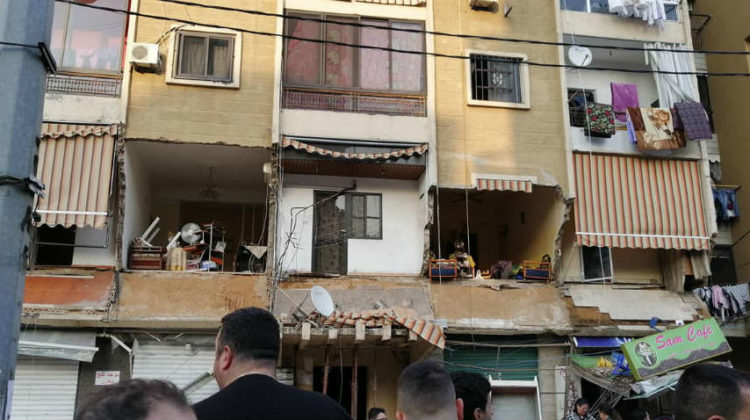 Facade Collapse: Burj Hammoud – Nabaa