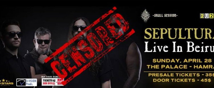 General Security Bans Metal Band Sepultura From Entering Lebanon