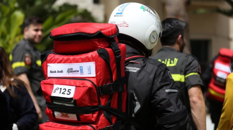 Moto Ambulance Project Officially Launched by UNDP & Bank Audi