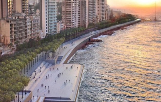 Pictures of Beirut's Planned New Corniche