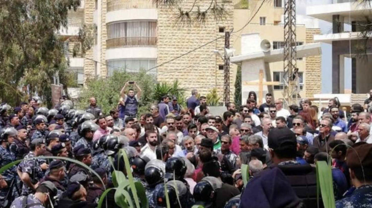 Mansourieh Residents Have Every Right to Protest Against High Voltage Power Lines