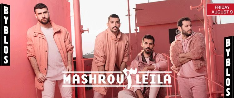 Mashrou' Leila Under pressure to Cancel Byblos International Festival Gig