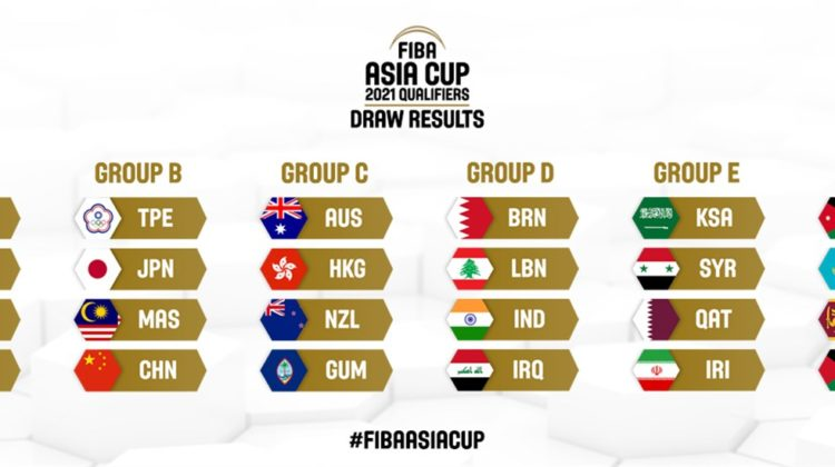 Lebanon's Group D matches in the 2021 FIBA Asia Cup qualification unveiled