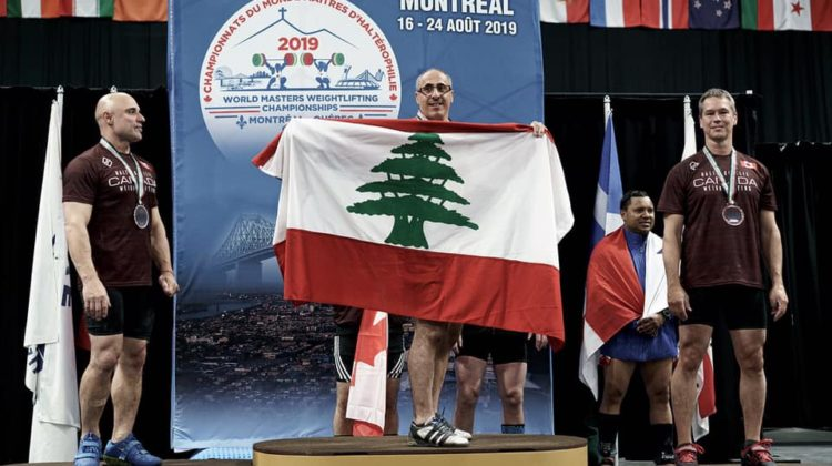 Lebanon Wins 5 Medals at 2019 World Masters Weightlifting Championship