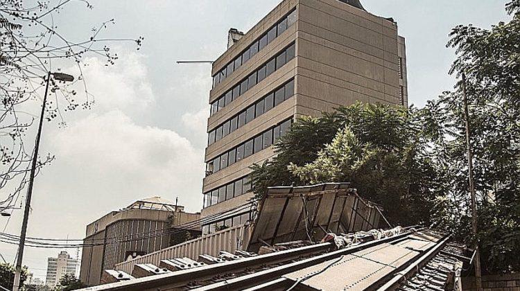 Mar Mikhael's Old Railway Bridge Was Damaged Since 2016