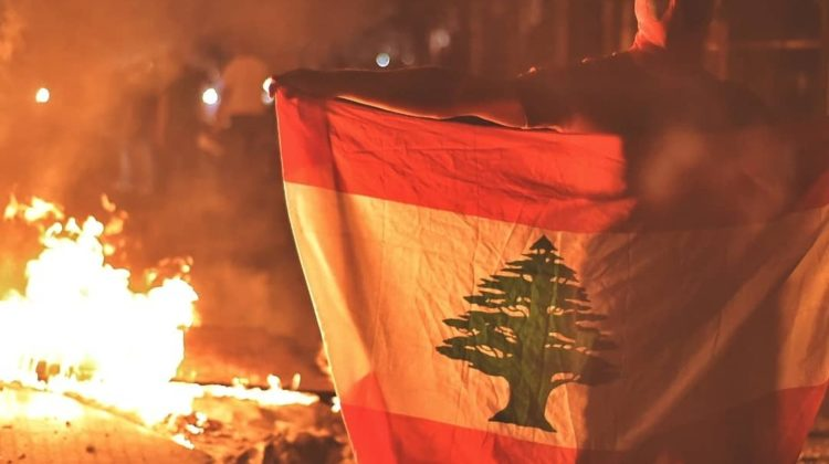 In Pictures: Lebanon 'Whatsapp' Protests