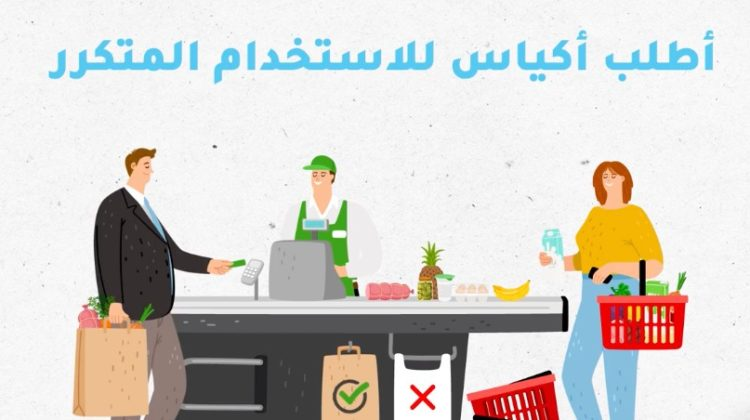 A Lebanese Family Consumes on Average 1400 Plastic Bags Yearly