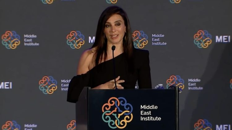 Nadine Labaki Speech at MEI's 73rd Annual Awards Gala