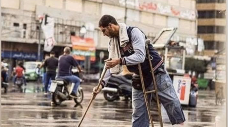 The Story of Mohammad El Zo3bi, Tripoli's Amputee Protester