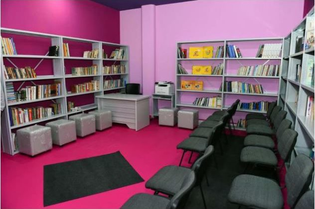 Library Inaugurated at the Verdun Women Prison