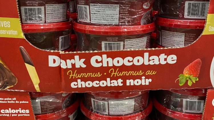 Dark Chocolate Hummus. WTF?