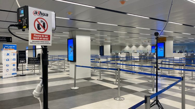 Thermal Scanners Deployed at Rafic Hariri International Airport