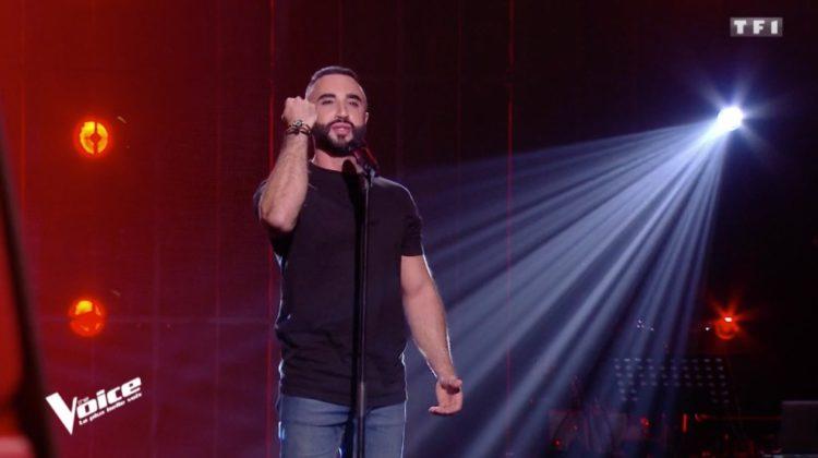 Matteo EL Khodr Gets  All Four Judges To Turn on The Voice France Debut