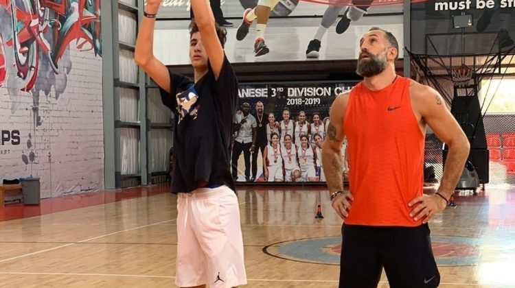 Fadi el Khatib Will Play with His Son at Champville This Year