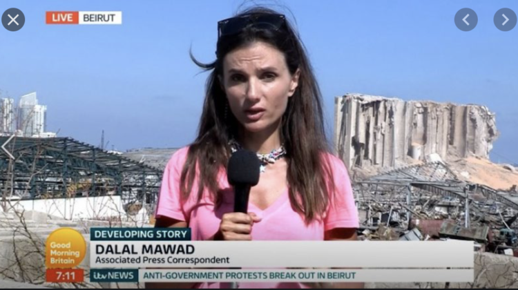 Lebanese Journalist Dalal Mawad Wins The 2020 #SamirKassirAward For Best Audiovisual News Report