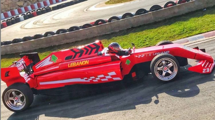 Formulawand: Lebanese Homemade F1-Like Car