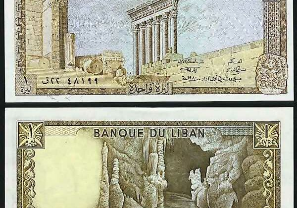 The Lebanese Pound 100 Years Journey
