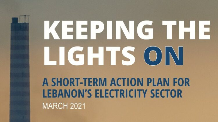 A Short-Term Action Plan for Lebanon's Electricity Sector