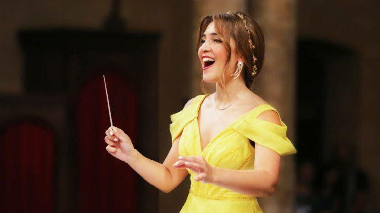 Expo 2020 Dubai's all-Women Orchestra Led By Lebanese Conductor Yasmina Sabbah